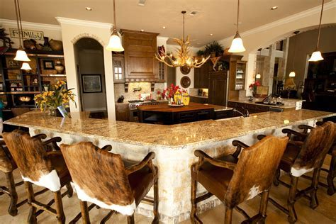 cowhide bar stools Kitchen Traditional with antler