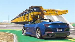 Nouvelle Ferrari Portofino : sauter par dessus 29 camions geants avec la nouvelle ferrari portofino youtube ~ Medecine-chirurgie-esthetiques.com Avis de Voitures