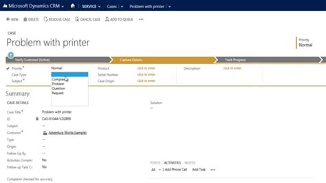microsoft help desk track client and help desk requests in microsoft crm