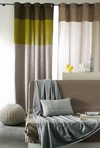 Idée Rideau Salon : 10 mod les de rideaux pour le salon c t maison ~ Preciouscoupons.com Idées de Décoration