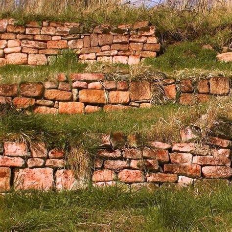 Buntsandstein Natursteinmauer Trockenmauer Sichtschutz