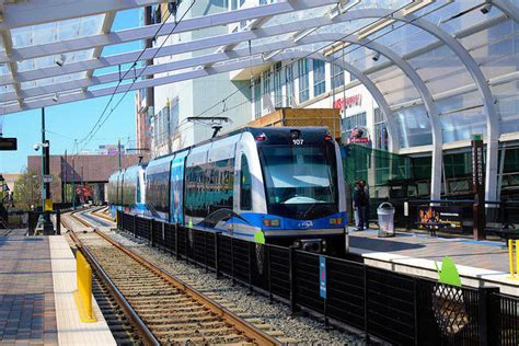 Blue Line Light Rail by Talks The Lynx Blue Line Turns 10 Has The