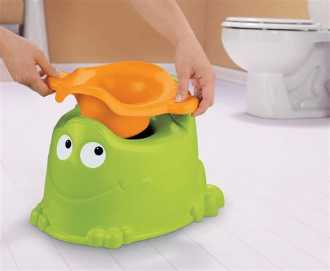 Frog Potty Chair With Step by Child Froggy Potty Chair Toddler Portable Toilet