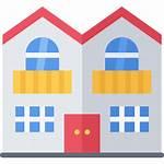 Duplex Icon Icons Estate Architecture Building Flaticon