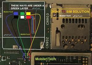 Sony Xperia T3 D5102 Insert Sim Ic Solution Jumper Problem Ways