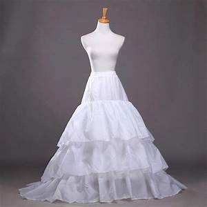 aliexpresscom buy 2015 cheap 3 hoops petticoat for With wedding dress crinoline