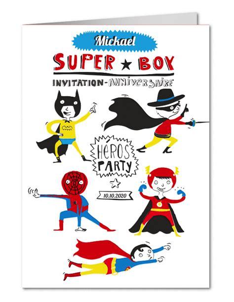bureau enfants fille invitation anniversaire petits héros planet cards com