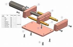 Woodwork Woodworking Vise Parts PDF Plans