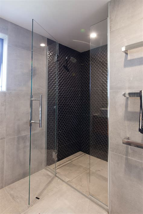 inline shower metro performance glass