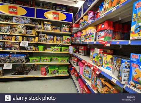 block u shop lego and mega blocks for sale in toys r us store in ontario canada stock photo royalty free