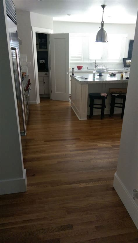 floor and decor white oak with a satin finish installed and finished by