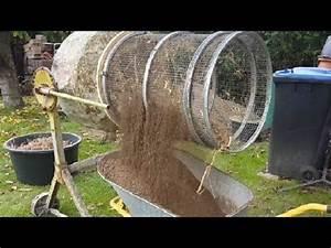 Sieb Für Erde Selber Bauen : kompost siebtrommel selber gebaut am betonmischer youtube bau garden soil garden und ~ Buech-reservation.com Haus und Dekorationen