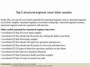 top 5 structural engineer cover letter samples With cover letter for structural engineer position
