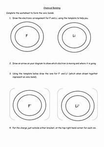 Ionic Bonding Worksheet