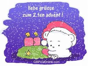 Grüße Zum 2 Advent Lustig : liebe gr e zum advent bild 22104 gbpicsonline ~ Haus.voiturepedia.club Haus und Dekorationen