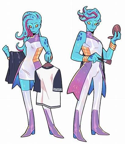 Monster Prom Alien Character Inspiration Fantasy Concept
