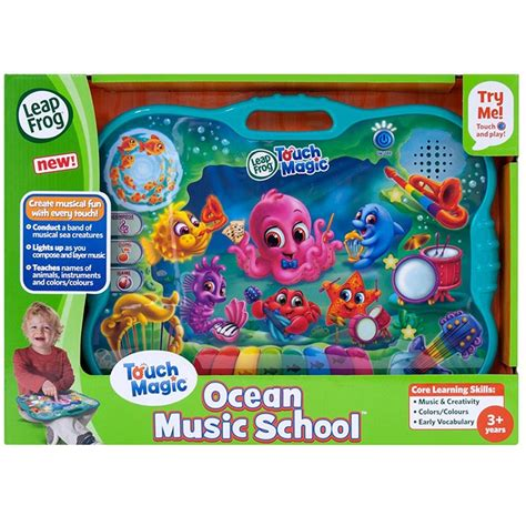 Leapfrog Touch Magic Ocean Music School - LFC19229 ...