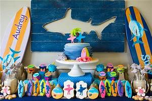Surf Party (with Shark inspiration) - Anders Ruff Custom