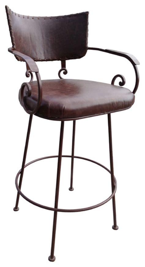 iron bar stools iron counter stools shop houzz rancho collection chamizal wrought iron 9011