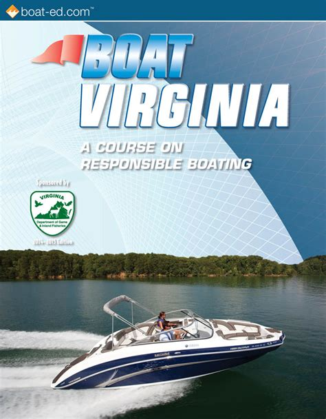 Virginia Boating License by Virginia S Official Boating Safety Course And