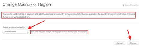 How To Change Country For Apple Id, Itunes Or App Store