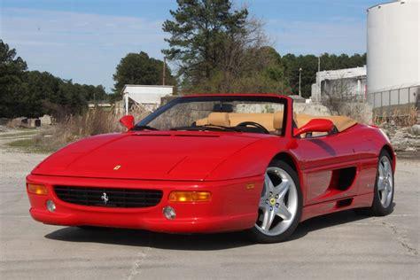 Open sports cars are an integral part of ferrari tradition: Used 1999 Ferrari F355 Spider Red Convertible 2-dr 3.5l V8 2-dohc 40v Automatic - Used Ferrari ...