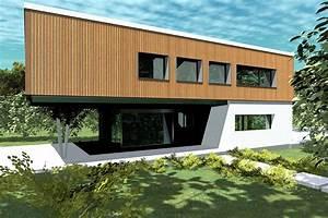 plan maison contemporaine bc 3 197m2 With plan de maison moderne 12 maison moderne darchitecte construite par guemas