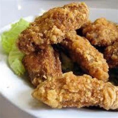 wings chicken deep fried fry laura recipe favorite cooking appetizers wing crispy fashioned fryer