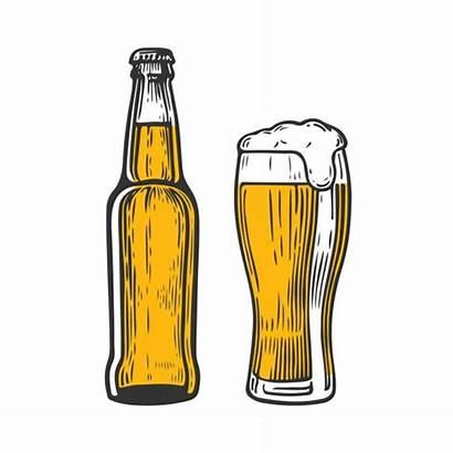 Beer Bottle Glass Craft Mug Bierfles Kleur
