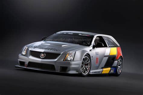 Cadillac Cts V Race Car by Cadillac Cts V Sport Wagon Race Car Photo Gallery Autoblog