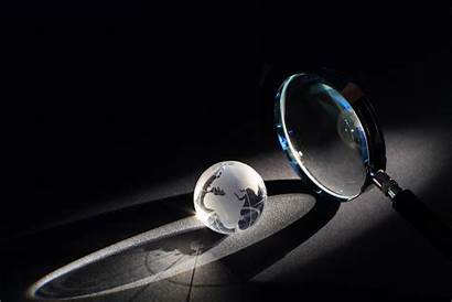 Investigation Magnifying Glass Dark Background Investigations Private