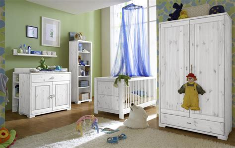Kinderzimmer Junge Massiv by Massivholz Babyzimmer Set Wei 223 Kinderzimmer Komplett