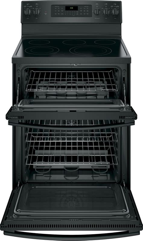 jbdjbb ge   standing electric double oven convection range black