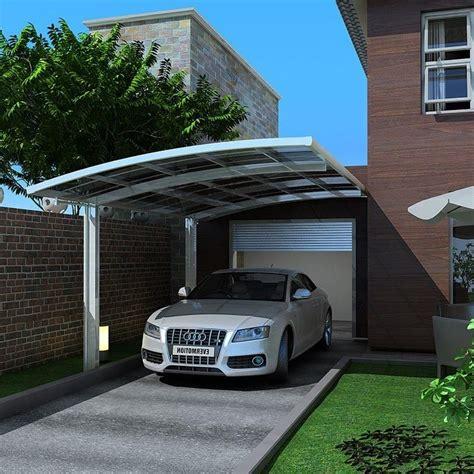 freestanding polycarbonate carport single car canopy