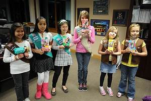 Area I Girl Scouts | Six of the 10 members of Area I's ...