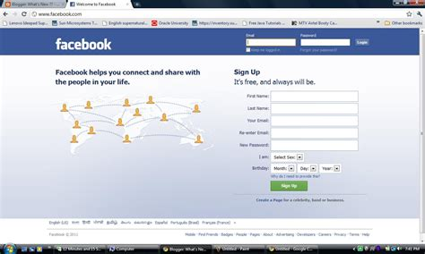 What's New ?? Facebook Home Page Design