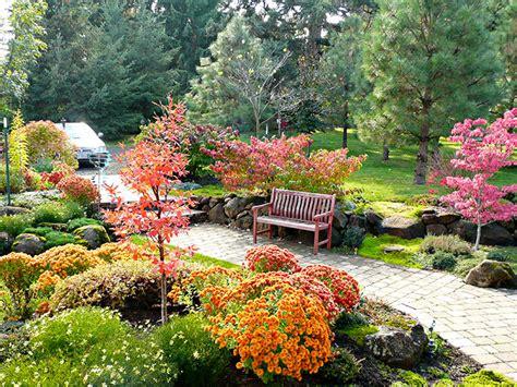 English Mixed Border, Cottage Gardens  Mount Hood Gardens