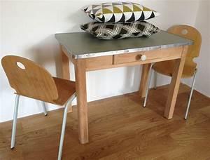 Petite Table En Bois : la petite factory de julie ~ Teatrodelosmanantiales.com Idées de Décoration