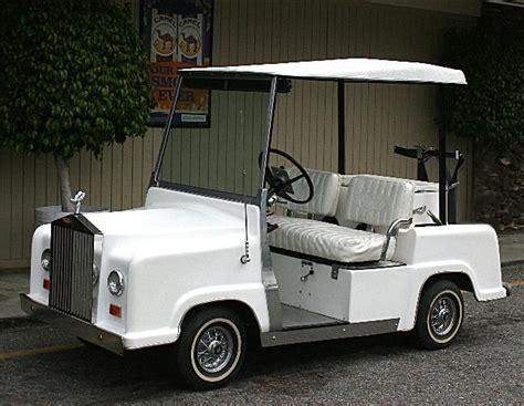 Rolls Royce Golf Cart by Rolls Royce Golf Cart Kit Must See Custom Golf Cart