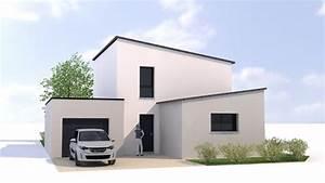 toiture maison moderne idees novatrices de la conception With superb photo maison toit plat 8 photo de maison design darchitecte toit plat