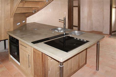 cuisine beton cire bois plan de travail beton cire 28 images decoration plan