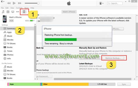 backup iphone notes how to restore iphone notes from backups