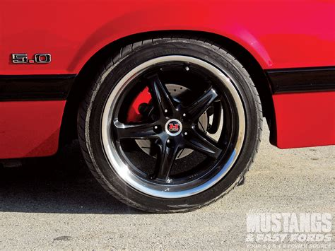 ford mustang rims and tires for mmfp 1001 06 o 1986 ford mustang gt pose 3 photo