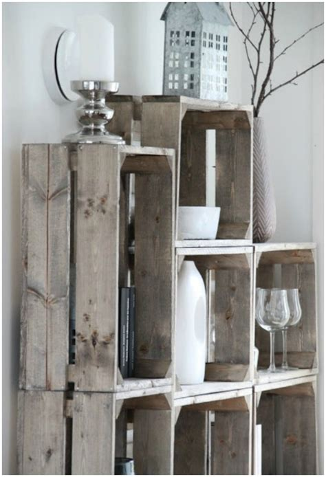 decorative rustic storage projects   beautifully