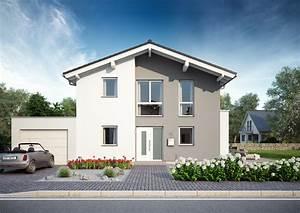 Haus Mit 2 Wohnungen Bauen : familienhaus vero satteldach mit flacher dachneigung ~ A.2002-acura-tl-radio.info Haus und Dekorationen