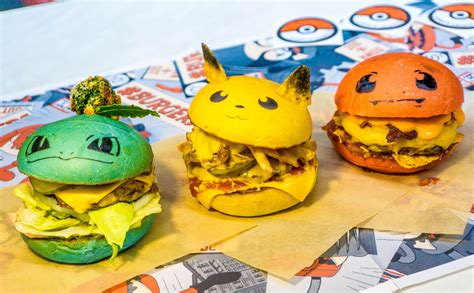 Log These Pokemon Burgers In Your Pokedex ASAP