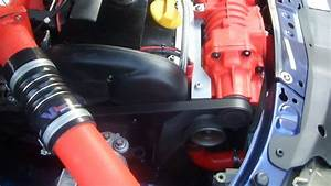 Supercharged Z18xe Astra With Eaton M45 - Running Boost