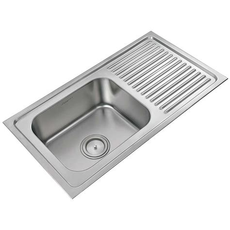 kitchen sink with drain board single sink with drainboard high quality kitchen sinks 8571
