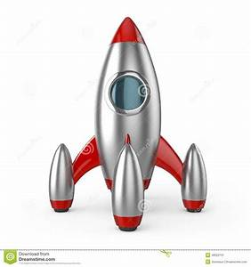 Rocket Spaceship Successful Startup Stock Illustration ...