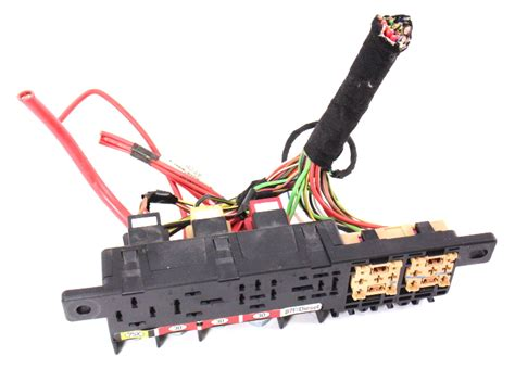 Dash Relay Box Panel Wiring Harness Pigtail Audi